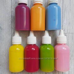 Клей для слаймов цветной