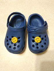 Кроксы ребёнку, crocs стелька 13 -  14см