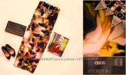 Крутое платье миди с кроп-топом ASOS Design Maternity, р. 14