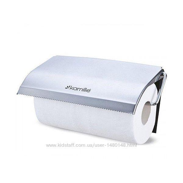 Держатель настенный для бумажных полотенец KAMILLE 8818