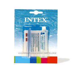 Ремкомплект Intex 59632, набор универсальный заплатка, клей 5, 7 мл