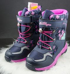 Супер теплые термо ботиночки сапоги зимние сапожки Тоm. M размер 30