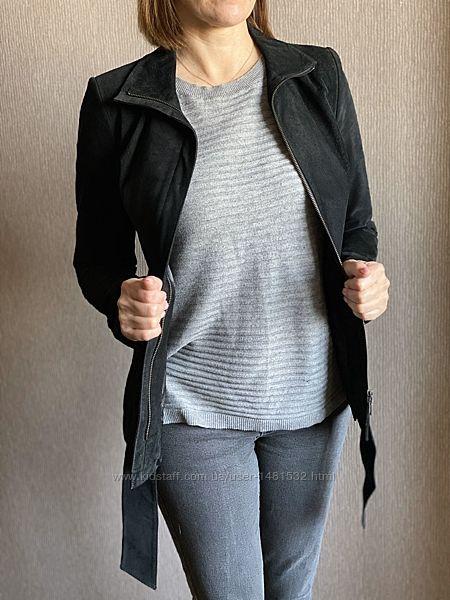 Куртка женская из натуральной замши