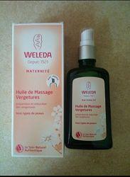 Weleda масло для профилактики растяжек при беременности