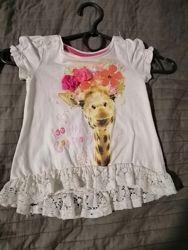 футболка Next H&M Zara на 6 9 12 18 месяцев