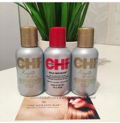 Кератиновый Шелк для волос Chi Keratin
