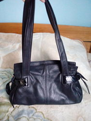 Кожаная сумка кожа