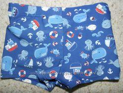 Mini club купальные трусики шорты непроливайка многоразовые подгузники