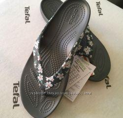 Crocs вьетнамки kadee ll seasonal W6 EUR 36-37