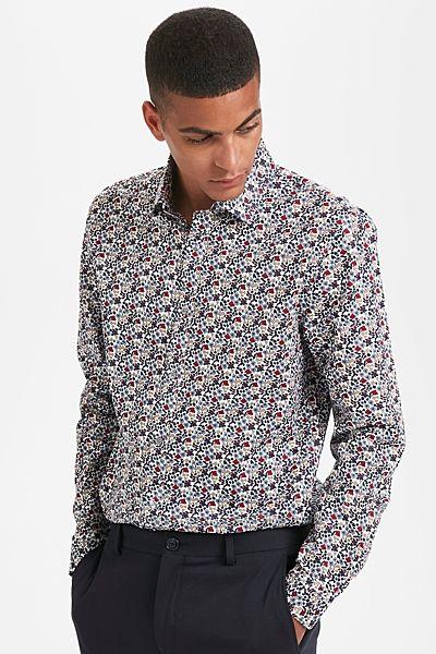 Рубашка Matinique приталенная размер L.