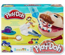 Пластилин плей до набор доктор мистер зубастик Play-Doh Hasbro