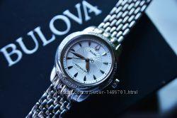 Женские часы с бриллиантами Bulova 20 шт подарок девушке женщине