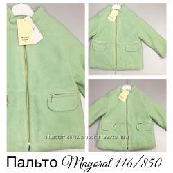 Пальто Деми для  девочки от MAYORAL.