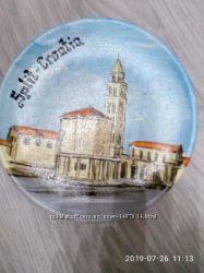 Тарелка сувенирная хорватия