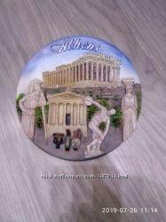 Тарелка сувенирная Афины