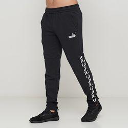 Черные демисезонные брюки puma amplified pants tr  оригинал