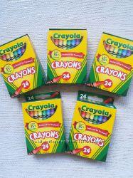 Восковые карандаши Crayola, 24 шт, крайола