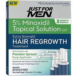 Экстра сильное лечение выпадения волос Just for Men Minoxidil Extra Strengt