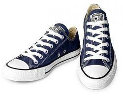 Кеды Конверс Converse All Stars низкие Синие