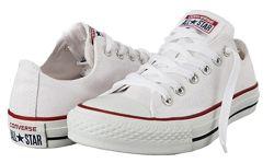 Кеди Конверс низькі Converse All Stars класичні білі. Кеды Белые конверсы