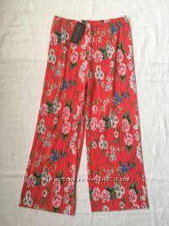 Кюлоти пліссе  літні штани  кюлоты плиссе new look  xs- m