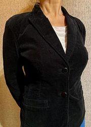 Вельветовый пиджак в мелкий рубчик. Colins.