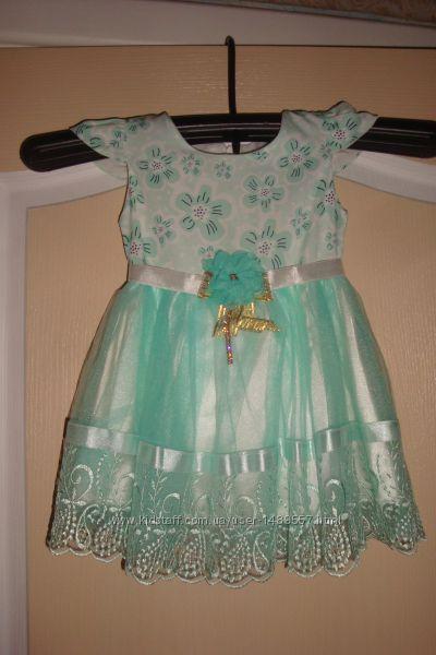Красивое платье для девочки - 1-2 годика Срочно