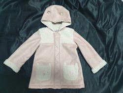 Дубленка пальто фирмы George. Размер 2-3 года.
