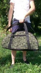 сумка дорожная камуфляжная