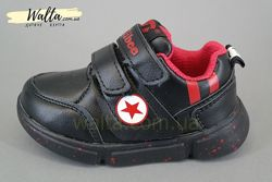 21-26р детские кроссовки кросівки Сlibee клиби мальчику черные L98 демисезо