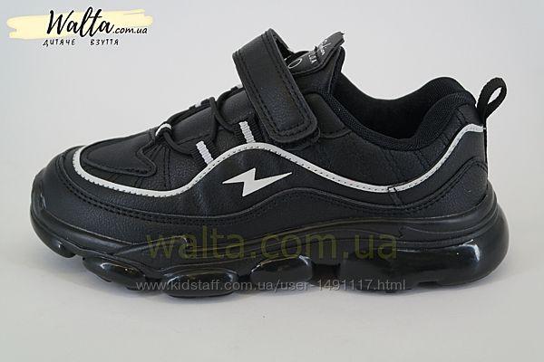 31р детские подростковые кроссовки кросівки мальчику Angel Турция черные