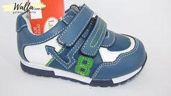 21-26р детские кожаные ортопедические кроссовки кросівки B&G би джи мальчик