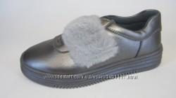 32-37 Skazka Сказка кожа новые школьные стильные  закрытые туфли