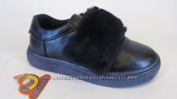 25-30 Skazka Сказка натуральная кожа новые стильные туфли закрытые девочке