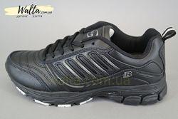 36-41р кожаные кроссовки кросівки Bona Бона оригинальные черные мальчику