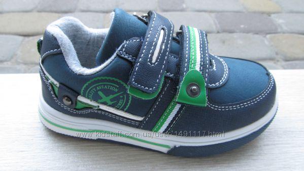 28-29р новые демисезонные туфли-кроссовки кросівки мальчику том. м Bi&Ki в