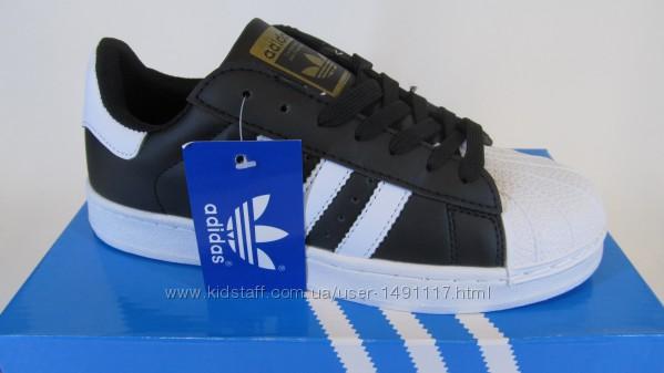 36-40р новые кроссовки кросівки кеды школьные адидас Adidas Superstar репли