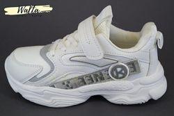 32-37р детские подростковые кроссовки кросівки Сlibee клиби белые девочке