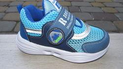 21-25р Детские кроссовки кросівки мальчику Том. м томики в сеточку синие ве