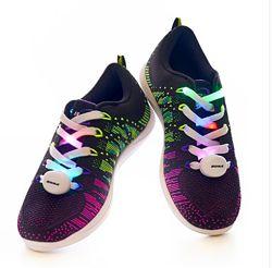 Bona Бона шнурки мигающие, светящиеся, шнурки-мигалки для кроссовок подрост