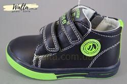 21-26р Clibee Клибби детские деми ботинки чобітки мальчику весна осень черн