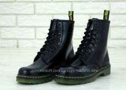 Женские ботинки Dr. Martens Black. Демисезон.