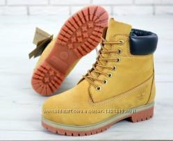 Мужские ботинки Timberland. Yellow. Демисезон.
