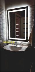 Влагостойкое зеркало с LED подсветкой в ванную комнату. В НАЛИЧИИ.