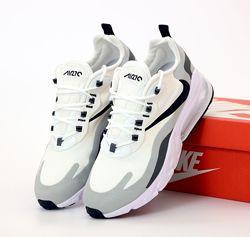 Мужские кроссовки Nike Air Max 270 React. Beige Grey Black