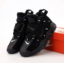 Мужские кроссовки Nike Air Barrage. Black Black