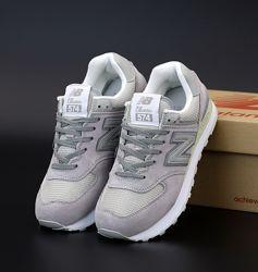 Женские кроссовки New Balance 574. Grey
