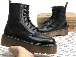 Женские ботинки Dr. Martens JADON. Др. Мартенс. Black. Демисезон.