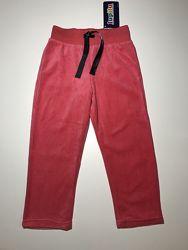 Велюровые спортивные штаны Lupilu на девочку 2-4 года