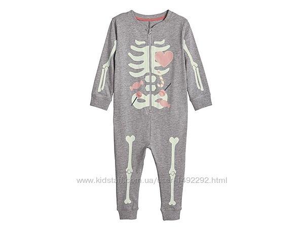 Пижама слип Lupilu на девочку 1-2 года